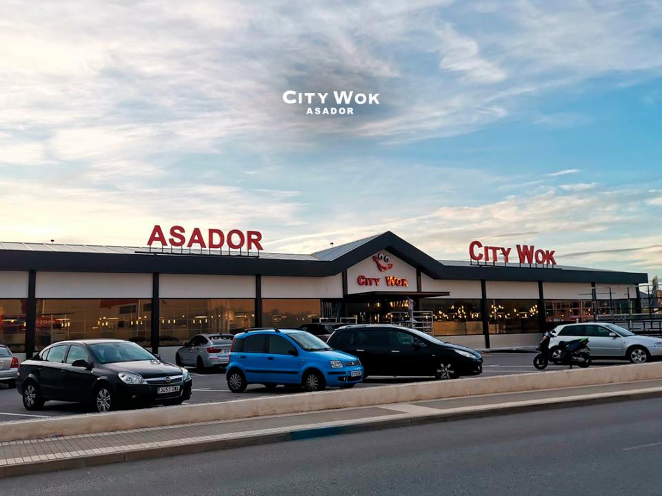 Asador city wok elche