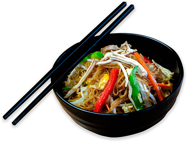 Fideos chinos tres delicias