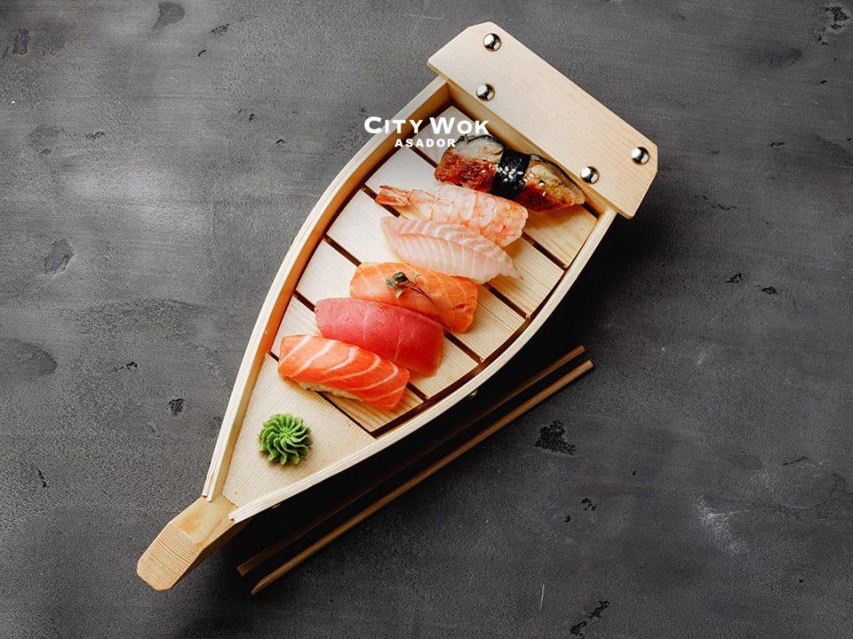 Lo mejor del sushi en Asador City Wok Elche